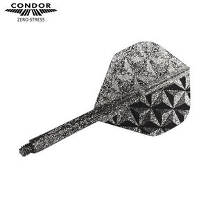 CONDOR フライト Pyramid スタンダードS スモークシルバー(ラメグリッター)