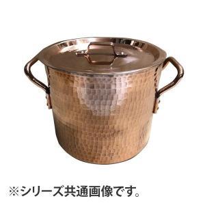中村銅器製作所 銅製 寸胴鍋 24cm|prettyw