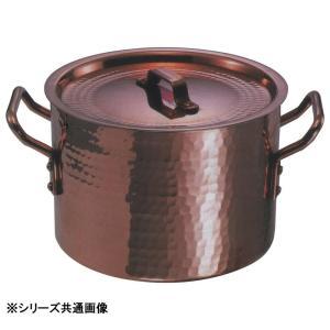中村銅器製作所 銅製 半寸胴鍋 24cm|prettyw