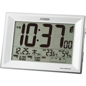 シチズン デジタル電波時計 (8RZ151-003)|prettyw