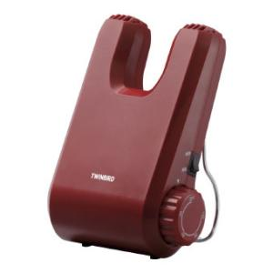 ツインバード くつ乾燥機 レッド (SD-4546R) 単品|prettyw