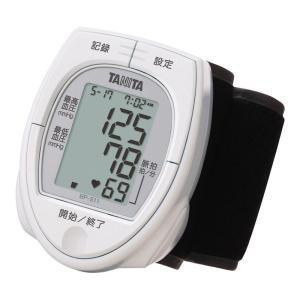 タニタ デジタル血圧計(手首式) (BP-511-WH) 単品|prettyw