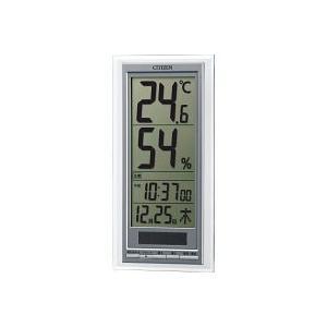 シチズン ソーラー電源温湿度計(掛置兼用) (8RD204―A19)|prettyw