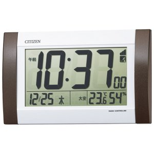 シチズン 電波掛置兼用時計 (8RZ188-006)|prettyw