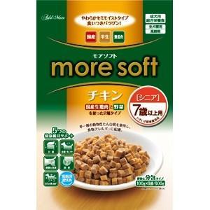 more soft チキン シニア 600g