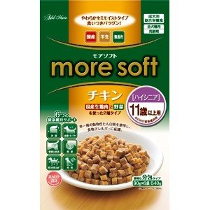 more soft チキン ハイシニア 540g
