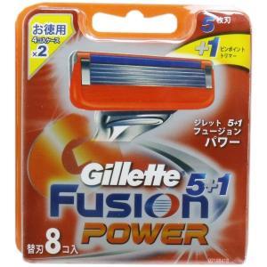 ジレット フュージョン5+1 パワー 替刃8個入|prettyw