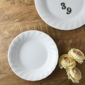 20.5cmドレープカレー&パスタ皿 ※B級品(アウトレット品)|prettyw