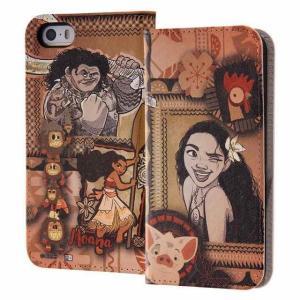 iPhone SE/5s/5 モアナと伝説の海/手帳型ケース/モアナ5|prettyw