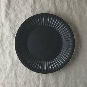 シュシュ・グレース 24cm皿 クリスタルブラック|prettyw