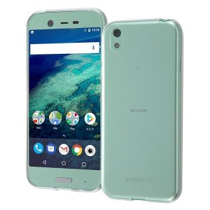 Y!mobile Android One X1 TPUソフトケース 極薄/クリア|prettyw