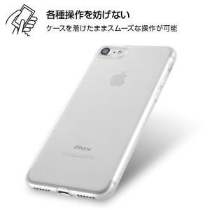 iPhone SE(第二世代)/ 8 / 7 TPUソフトケース 極薄/クリア|prettyw