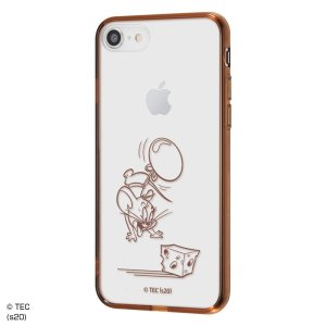 iPhone SE(第2世代)/8/7 『トムとジェリー』/ハイブリッドケース Charaful/ジェリー|prettyw