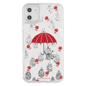 iPhone 11 / XR /ムーミン/ラメ グリッターケース/リトルミイ|prettyw