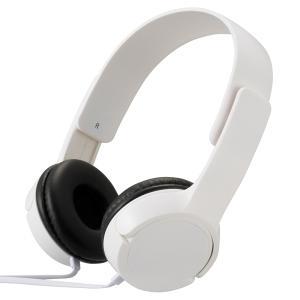 ステレオヘッドホン(ホワイト) (HP-H125N-W)|prettyw