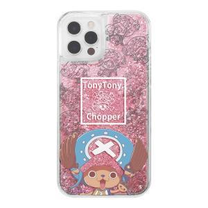 iPhone 12 / 12 Pro / 『ワンピース』/ラメ グリッターケース/チョッパー|prettyw