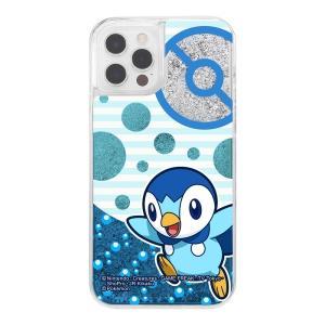 iPhone 12/12 Pro/ポケットモンスター/ラメ グリッターケース/ポッチャマ|prettyw