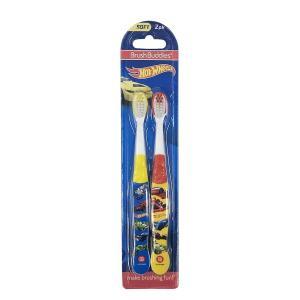 ホットウィールズ 歯ブラシ 2本セット 14409  HOT WHEELS 歯ぶらし 車 歯磨き キ...