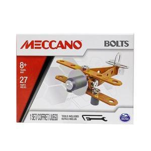 メカノ パズル ブロック (バイプレーン) 14699c 組み立て 工具付き プラモデル おもちゃ ...