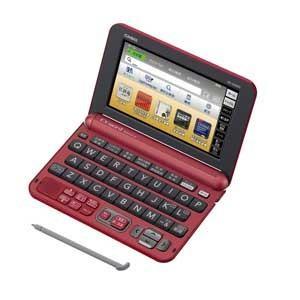 <XDG8000 RD>カシオ電子辞書 XD-G8000 RD|preuv