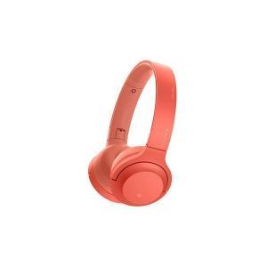 <WH-H800-R(トワイライトレッド)>ソニー ワイヤレスステレオヘッドセット|preuv