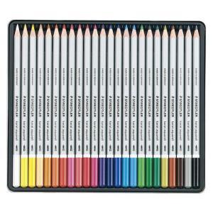 ステッドラー カラトアクェレル水彩色鉛筆 24色 125 M24