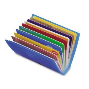 リヒトラブ AQUADROPs ポイントカードホルダー A−5002 カード10枚用|prezataisaku|02