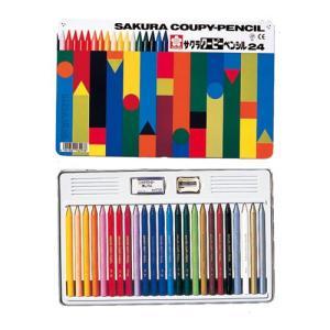 包装無料 サクラクレパス クーピーペンシル 24色 色鉛筆  FY24