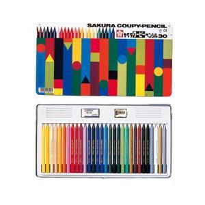 プレゼントに最適 ラッピング無料 サクラクレパス クーピーペンシル 30色 色鉛筆   FY30