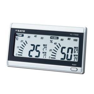 佐藤計量器 デジタル温湿度計 PC−7700? prezataisaku
