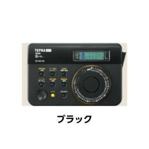 送料無料 初代ダイアル式「テプラ」の復刻版モデル キングジム ラベルライター テプラ PRO SR55 ブラック|prezataisaku