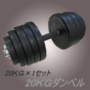 筋トレ ラバーダンベル20kg×1個セット 計20キロ激痩