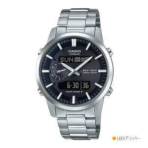 CASIO カシオ LINEAGE リニエージ ソーラーコンビネーション 電波時計 LCW-M600D-1BJF|pricejapan2