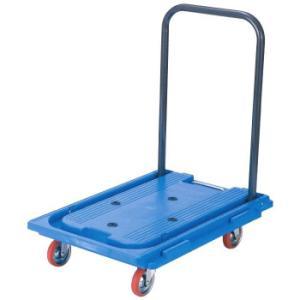 アイケーキャリー 樹脂シリーズ ポリプロピレン製台車 (折りたたみ式ハンドル・無音タイプ) RP101BNS|pricejapan2
