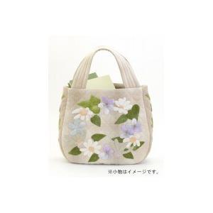 オリムパス 大畑美佳デザイン パッチワークバッグ マチまでこだわった お花とアイビーのコロンバッグ|pricejapan2