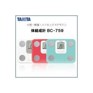 TANITA タニタ BC-759 体組成計 ライトブルー・...