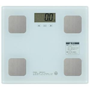 OHM 体重体組成計 ホワイト HB-KG11R3-Wの商品画像 ナビ