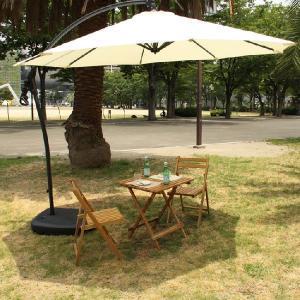 ガーデンパラソル アルミ 軽量 アウトドア ガーデニング ガーデンファニチャー 折りたたみ 野外 ビーチ 角度調節 東谷 RKC-529|pricewars