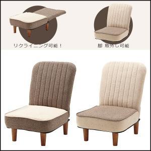 フロアチェア フフレ こたつ コタツ 座椅子 リクライニング ハイバック スツール ポケット 1人掛け THC-111|pricewars