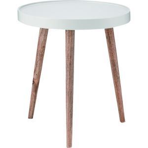 テーブル トレーテーブル NW-724 木製 テーブル 家具 キャスター付き 杉 天然木 収納付き家具 棚付き 収納 東谷|pricewars