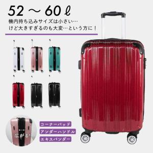 スーツケース S19-C-702 ハードジッパー 22インチ キャリーケース キャリーバッグ 52l 軽量|pricewars