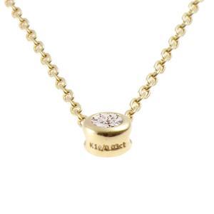 日本製K10 ダイヤモンド ネックレス 一粒石「0.03ct」|prima-luce|04