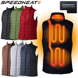 スピードヒート温熱ベスト コンセントレス たった15秒でぽっかぽか 温熱ベスト SPEEDHEAT