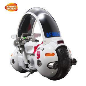 ドラゴンボール S.H.フィギュアーツ ブルマのバイク-ホイポイカプセル No.9 ABS&ダイキャスト&PVC製 (孫悟空付き) 塗装済み可動フィギュアの画像