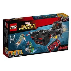 レゴ LEGO スーパー・ヒーローズ アイアンスカル サブアタック 76048...