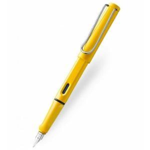 ラミー ラミー サファリ Lamy Safari Fountain Pen 18(F) Nib Ye...