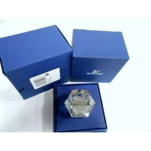 文鎮 スワロフスキー Swarovski Hexagonal Crystal Paperweight...