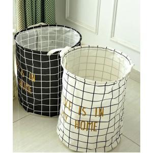 インテリアとしてお部屋にあるだけでお洒落で可愛い。 大容量で使い方いろいろ。 折り畳み式なので使わな...