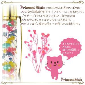 かすみ草 ドライフラワー 小分け ハーバリウム 花材 ブルー レッド パープル等 濃い色 6色/セット|princess-factory|05