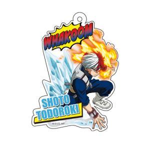 【ご予約 10/10頃入荷予定】僕のヒーローアカデミア オリジナルアクリルキーホルダー 轟焦凍 princesscafe